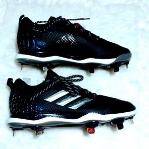 NWT Adidas PowerAlley 5 Size 7 Baseball Cleats Low